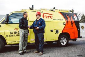 successful fire suppression system installation