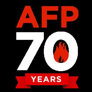 AFP 70 years logo