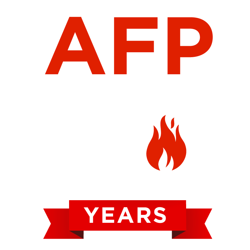AFP 70 years logo