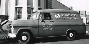 Associated Fire Protection Van.