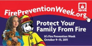 fire protection week is all about protecting your family