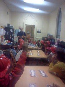 teaching fire safety to children