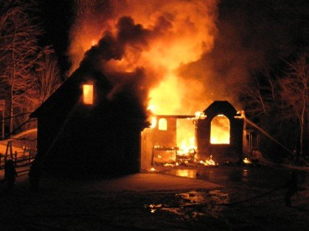 winter fire safety associated fire protection. Black Bedroom Furniture Sets. Home Design Ideas