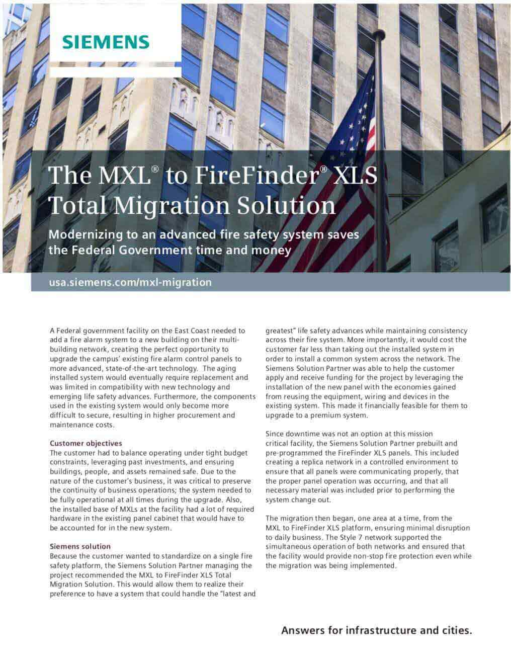 Click to read more about MXL® to FireFinder® XLS