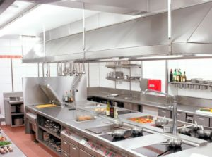 photo of a commercial kitchen