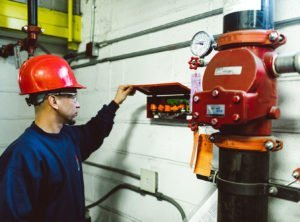 new fire suppression system